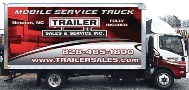 Breakdown - mobile trailer repair in Newton, North Carolina